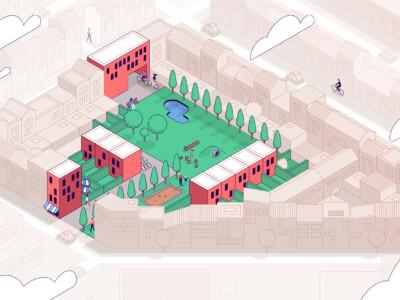 Nadenken over meer groen en ruimte in de binnenstad